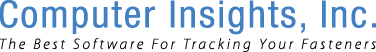 Computer Insights Inc - The Best Software For Tracking Your Fasteners